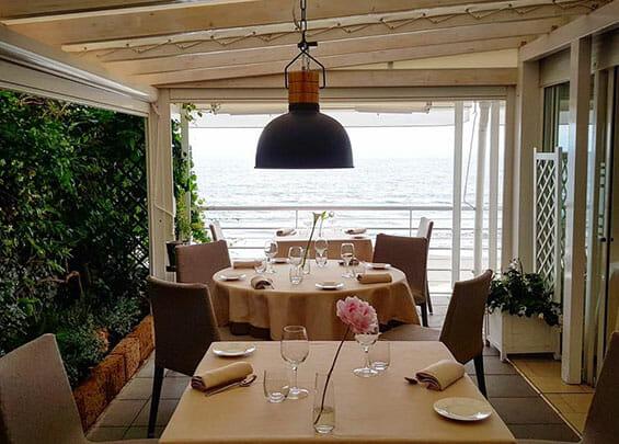 ristorante sul mare Alassio